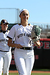 17 February 2017: Notre Dame's Alexis Bazos. The Notre Dame Fighting Irish played the University of Minnesota Golden Gophers at Dail Softball Stadium in Raleigh, North Carolina as part of the ACC/Big 10 College Softball Challenge. Minnesota won the game 4-1