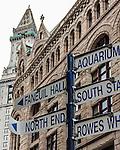 The Grain and Flour Exchange building, Boston, Massachusetts, USA