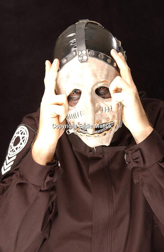 Slipknot Studio Portrait Session In Desmoines Iowa.Photo Credit: Eddie ...