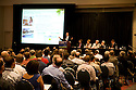 "Plenary Panel: ?Today?s Pathways to PHEVs."" Opening day of the July 22-24 inaugural Plug-In 2008 Conference & Exposition: A Short Drive to Tomorrow in San Jose, CA. The event showcases the latest technological advances, market research and policy initiatives shaping the future of plug-in hybrid electric vehicles (PHEVs). Original photo is high-resolution (4368 x 2912 pixels)."