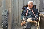 Elderly Inupiat Man