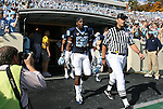 08 November 2008: North Carolina's Hakeem Nicks (88). The University of North Carolina Tarheels defeated the Georgia Tech University Yellow Jackets 28-7 at Kenan Stadium in Chapel Hill, NC in an NCAA Division I and Atlantic Coast Conference football game.