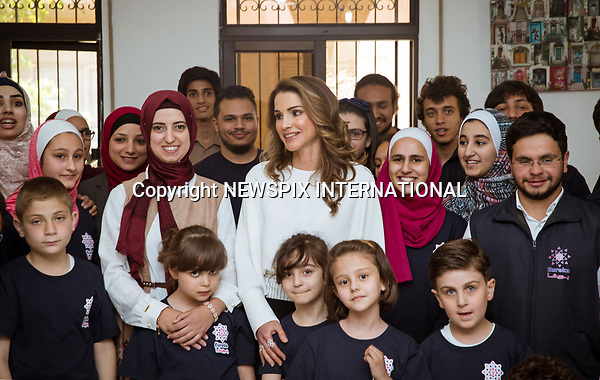 17.05.2017; Amman, Jordan: QUEEN RANIA<br /> visits the Eureka Tech Academy, Amman<br /> Mandatory Photo Credit: &copy;Royal Hashemite Court/NEWSPIX INTERNATIONAL<br /> <br /> IMMEDIATE CONFIRMATION OF USAGE REQUIRED:<br /> Newspix International, 31 Chinnery Hill, Bishop's Stortford, ENGLAND CM23 3PS<br /> Tel:+441279 324672  ; Fax: +441279656877<br /> Mobile:  0777568 1153<br /> e-mail: info@newspixinternational.co.uk<br /> &ldquo;All Fees Payable To Newspix International&rdquo;