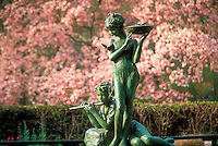New York City, Cental Park, Conservatory Garden, New YorK, Fountain