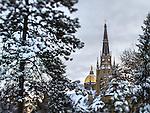 2.2.15 Snow Scenic 6.JPG by Matt Cashore/University of Notre Dame
