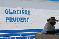France/DOM/Martinique/ Sainte-Luce: Au marché au poisson sur la plage