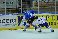 IJSHOCKEY: HEERENVEEN; 20-12-2014, IJsstadion Thialf, UNIS Flyers - Eindhoven Kemphanen 201214, uitslag 7-0, Marco Poxstma (#19), ©foto Martin de Jong