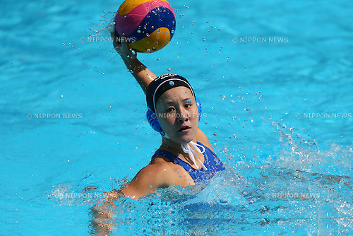 Yumi Nakano (JPN), <br /> JULY 28, 2015 - Water Polo :<br /> 16th FINA World Championships Kazan 2015<br /> Men's Preliminary Round<br /> match between Brazil 11-8 Japan<br /> at Water Polo Arena in Kazan, Russia.<br /> (Photo by Yohei Osada/AFLO SPORT)