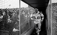 Pix:Michael Steele/SWpix...Rugby League. Naughton Park...COPYRIGHT PICTURE>>SIMON WILKINSON..St.Helens' Kevin Ward enters the fray at Naughton Road.