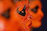 Theyyam dancers, Cochin, Kerala, India