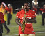 Lafayette High band member Steven Cook (62) vs. Shannon in Oxford, Miss. on Friday, September 14, 2012. Lafayette won 44-25 over Shannon to improve to 4-1.