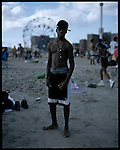 Coney Island teen-agers. Summer 2008.