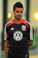 D.C. United midfielder Marcelo Saragosa during the pre-season fitness training session at George Manson University before departing for Bradenton Florida to get ready for the 2013 season, Friday January 18, 2013.