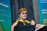 2.7.2015, Berlin Topographie des Terrors. NEBA-Konferenz Antisemitismus heute. Dr. Deborah Lipstadt im Gespräch mit Micha Brumlik