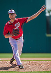9 March 2014: Washington Nationals pitcher Matt Purke on the mound during a Spring Training game against the St. Louis Cardinals at Space Coast Stadium in Viera, Florida. The Nationals defeated the Cardinals 11-1 in Grapefruit League play. Mandatory Credit: Ed Wolfstein Photo *** RAW (NEF) Image File Available ***