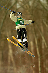 15 January 2005 - Lake Placid, New York, USA - Azusa Ito representing Japan, competes in the FIS World Cup Ladies' Moguls Freestyle ski competition, ranking 17th for the day, at Whiteface Mountain, Lake Placid, NY. ..Mandatory Credit: Ed Wolfstein Photo.