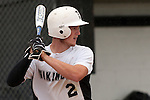 Vale's Kyle Barras bats during the 3A Oregon State Baseball Championships first round game against Rogue River on May 25, 2011 at Cammann Field, Vale, Oregon...Barras went 3 for 4 with a walk, two runs and three RBI's in Vale's 12-2 win.