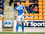 St Johnstone v Partick Thistle&hellip;29.10.16..  McDiarmid Park   SPFL<br />Michael Coulson reacts to his miss<br />Picture by Graeme Hart.<br />Copyright Perthshire Picture Agency<br />Tel: 01738 623350  Mobile: 07990 594431