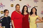 Sharon Cohen, Dr. Geneva Williams, Alissandra Aronow, Meryl Davis cochairs of Figure Skating in Detroit at Figure Skating in Harlem celebrates 20 years - Champions in Life benefit Gala on May 2, 2017 at 583 Park Avenue, New York City, New York. (Photo by Sue Coflin/Max Photos)