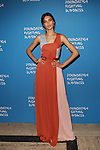 Wilhelmina Model Angela Ruiz Wearing Vionnet Paris Foundation Fighting Blindness World Gala Held at Cipriani downtown located at 25 Broadway