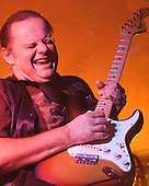 Walter Trout plays the blues at the Holiday Inn in Marquette Michigan on May 19, 2007