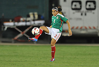 Kenti Robles (2) of Mexico. The USWNT defeated Mexico 7-0 during an international friendly, at RFK Stadium, Tuesday September 3 , 2013.