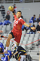 Tetsuya Kadoyama (JPN), OCTOBER 29, 2011 - Handball : Asian Men's Qualification for the London 2012 Olympic Games match between Japan 46-15 Kazakhstan in Seoul, Soth Korea.  (Photo by Takahisa Hirano/AFLO)