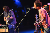 September 7, 2012. Raleigh, NC. Yo La Tengo performs at the Memorial Auditorium in the Progress Energy Center as part of the 2012 Hopscotch Music Festival in Raleigh, NC.