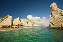 Snorkeling and kayaking at Land's End (El Arco).  Cabo San Lucas, Baja, Mexico.  MR