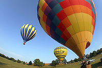 Balloons in Albemarle County, VA. Photo/Andrew Shurtleff