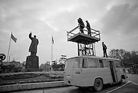 Randy Olson photographs in 1978 in Wuhan.