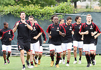 DC United vs AC Milan Practice May 24 2010