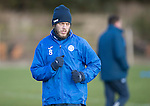 St Johnstone Training&hellip;03.02.17<br />Murray Davidson pictured during training this morning at McDiarmid Park ahead of Sunday&rsquo;s game against Celtic.<br />Picture by Graeme Hart.<br />Copyright Perthshire Picture Agency<br />Tel: 01738 623350  Mobile: 07990 594431
