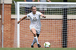 28 September 2014: Wake Forest's Ally Haran. The Wake Forest University Demon Deacons hosted the Notre Dame University Fighting Irish at W. Dennie Spry Soccer Stadium in Winston-Salem, North Carolina in a 2014 NCAA Division I Women's Soccer match.