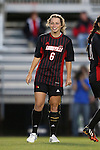 04 October 2014: Louisville's Shannon Dennehey. The Duke University Blue Devils hosted the University of Louisville Cardinals at Koskinen Stadium in Durham, North Carolina in a 2014 NCAA Division I Women's Soccer match. The game ended in a 0-0 tie after double overtime.