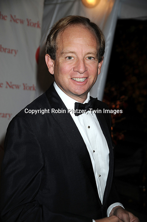 Steve Rattner..arriving at The New York Public Library 2008 Library Lions Benefit Gala on November 3, 2008 at The New York Public Library at 42nd Street and 5th Avenue.....Robin Platzer, Twin Images