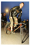 Kevin 'Squid' Bolger, Track Stand event, Alley Cat, Chicago, 1995