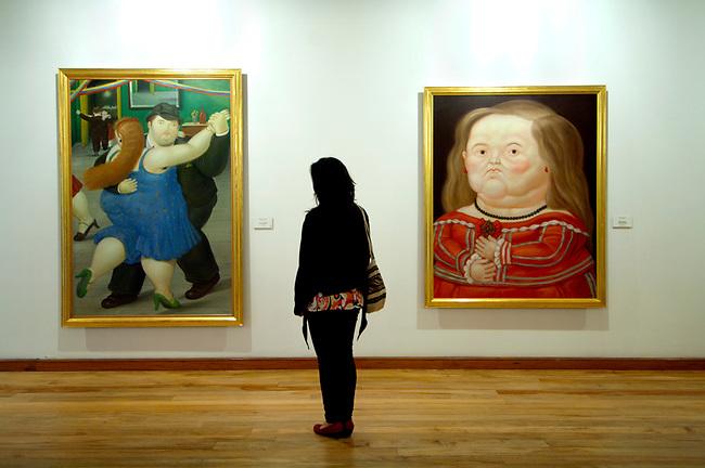 Colombia, Bogota, Fernando Botero Museum, Dedicated To The Work Of Fernando Botero, Colombian Artist