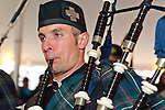 Fund raiser for firefighter Ray Pfeifer on Saturday, March 31, 2012, at East Meadow Firefighters Benevolent Hall, New York, USA. The Boston Gaelic Fire Brigade Pipes and Drums band performed.