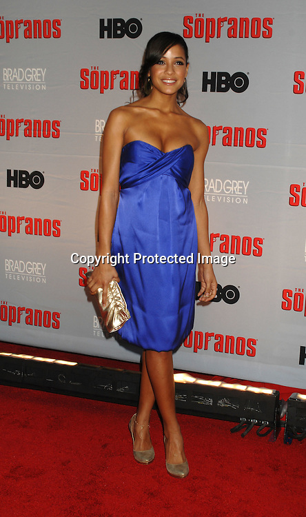 Dania Ramirez..arriving at The Sopranos World Premiere of two new episodes of the HBO original series on March 27, 2007 at..Radio City Music Hall in New York...Robin Platzer, Twin Images