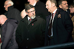 Hearts v St Johnstone&hellip;05.11.16  Tynecastle   SPFL<br />Craig Levein  before kick off<br />Picture by Graeme Hart.<br />Copyright Perthshire Picture Agency<br />Tel: 01738 623350  Mobile: 07990 594431
