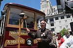 Cable car bell ringing contest at Union Square