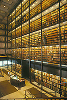 Beinecke library, Yale campus, New Haven, CT