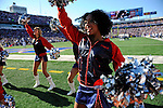 """19 October 2008:  Buffalo Bills' cheerleaders the """"Jills"""" entertain the crowd during a game against the San Diego Chargers at Ralph Wilson Stadium in Orchard Park, NY. The Bills defeated the Chargers 23-14 and maintain their first place position in the AFC East with a 5 and 1 record...Mandatory Photo Credit: Ed Wolfstein Photo"""