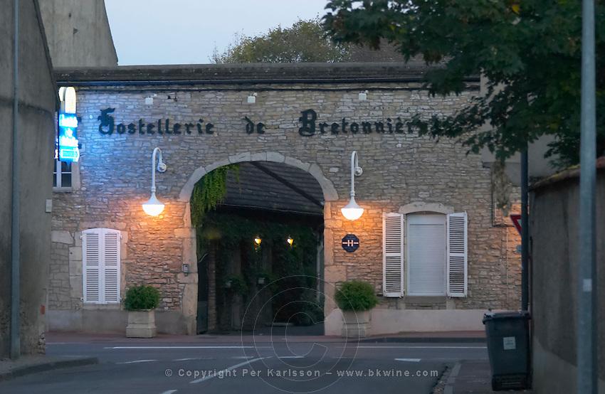 bretonniere hotel beaune cote de beaune burgundy france