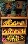 Fruit Stand, Hana Coast, Maui, Hawaii, USA<br />