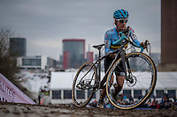 Alicia Franck (BEL)<br /> <br /> Women's Race<br /> UCI 2017 Cyclocross World Championships<br /> <br /> january 2017, Bieles/Luxemburg