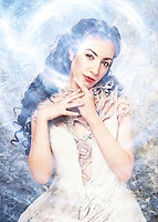 The Winter Queen - photo illustration