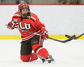 Lauren Brozowski (St. Lawrence - 11) - The Harvard University Crimson defeated the St. Lawrence University Saints 8-3 (EN) to win their ECAC Quarterfinals on Saturday, February 26, 2011, at Bright Hockey Center in Cambridge, Massachusetts.