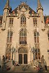 Provincial Palace; Market Place; Bruges; Belgium; Europe